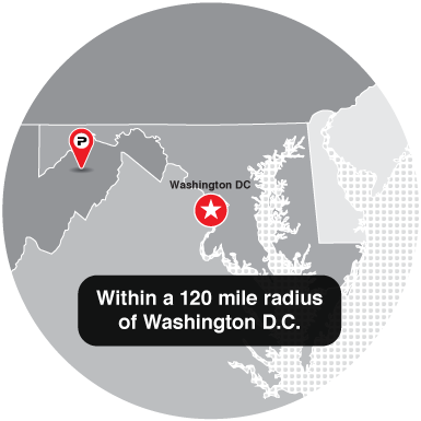 120-mile-radius-from-Washington-DC